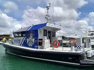 SAFER WATERS: New boat to bolster Hervey Bay Water Police