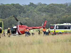 Student pilot left shaken by helicopter's heavy landing