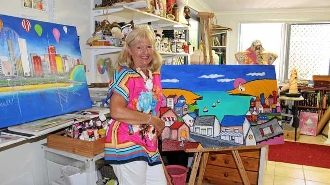 Priscilla Ransley spent three years working on her artworks for the upcoming exhibition  Ode to Joy , which will be on display at Hervey Bay Regional Gallery from May 10.
