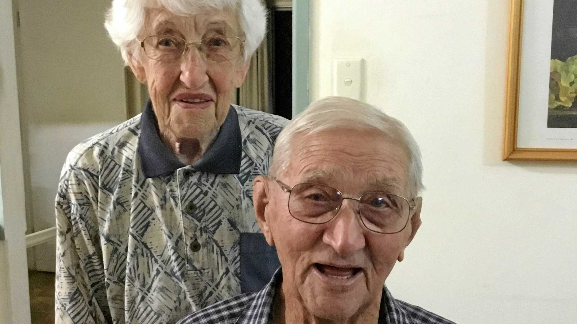 COMMITMENT: Jean and Herbert (Bob) Little celebrate their 70th wedding anniversary together on February 5, 2019.
