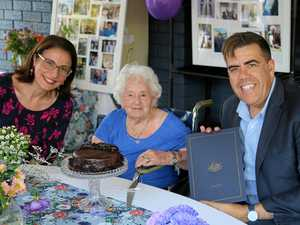 Alma joins 100+ birthday club