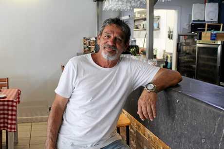 Claude DeBonis, owner of Little Antonio's Kitchen in Bucasia.