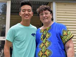Rescued Chinese orphan reunited with his Gympie saviour