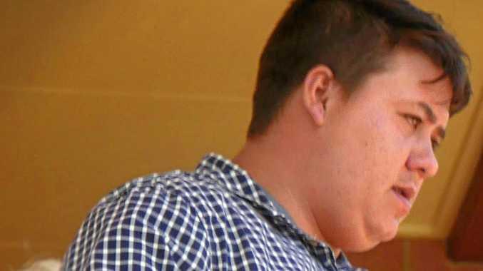 TURNAROUND: Dakoda Glen Sorensen outside Hervey Bay District Court. He pleaded guilty to violent robbery.