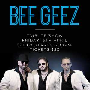 The Bee Geez tribute show from the UK is coming to City Golf Club on April 5th, from 8.30pm! Enjoy all your favourite Bee Gees songs from these amazing artists.