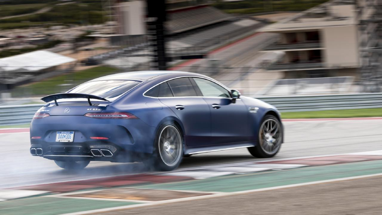 The GT63 S 4-Door can sprint to 100km/h in a claimed 3.2 seconds.
