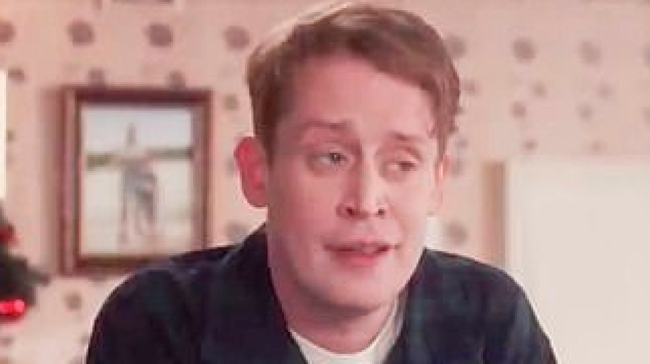 Macaulay Culkin revisited his famous character Kevin McCallister. Picture: Supplied