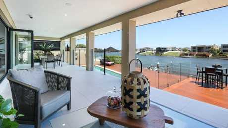 Great spot to sit around strumming a guitar. Picture: Realestate.com.au