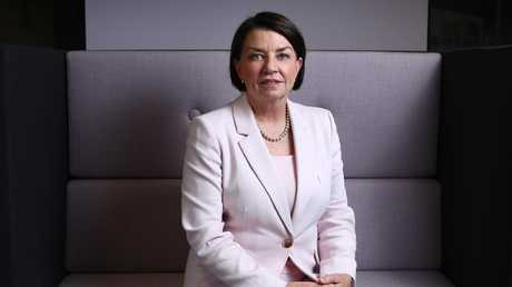 Australian Banking Association CEO Anna Bligh says the report contained 'tough medicine' for banks. Picture: Hollie Adams/The Australian