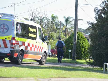 A one-year-old was found dead at a home in Chester Hill on Sunday. Picture: Daily Telegraph/Flavio Brancaleone