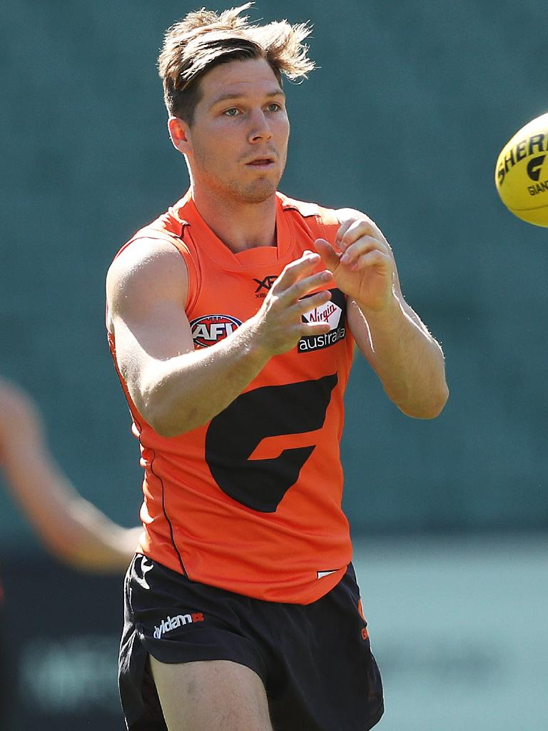 Toby Greene has had an interrupted pre-season. Picture: Phil Hillyard