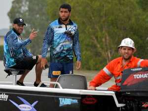 Cowboys stars join flood rescue effort