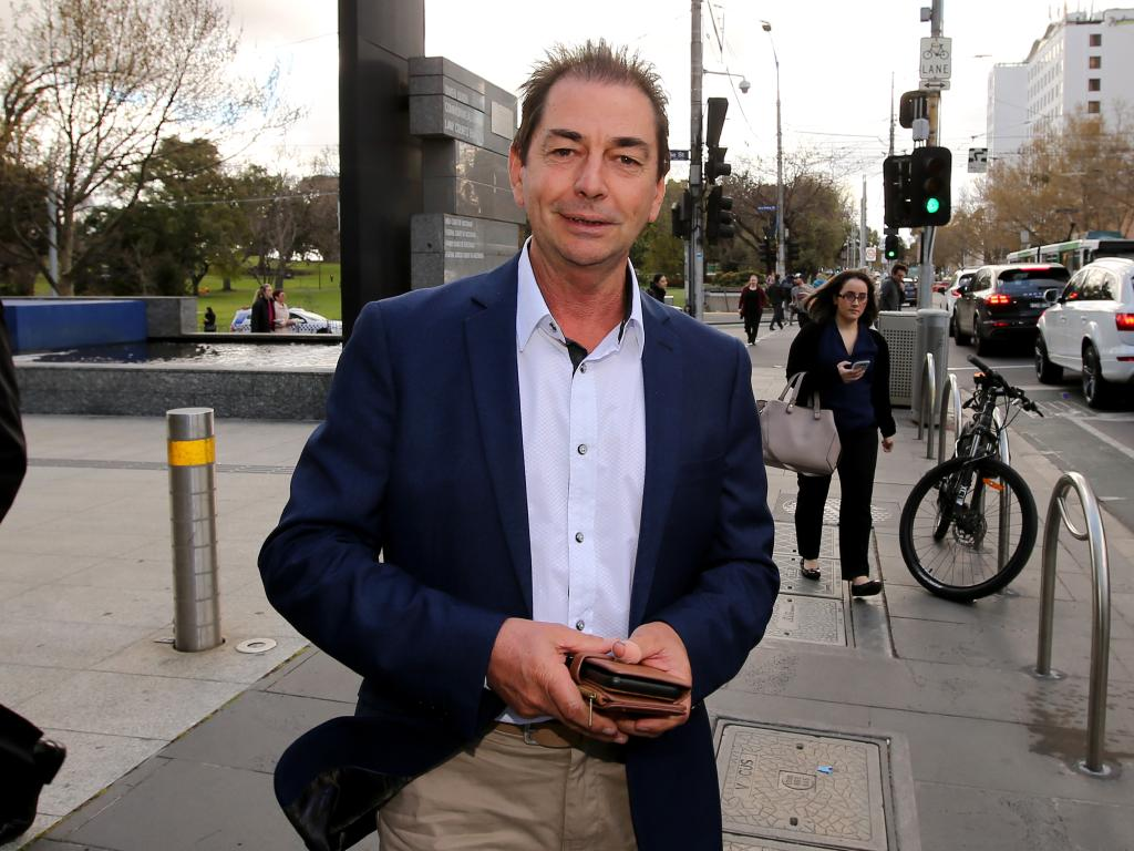 Glenn Sutton testified at the Banking Royal Commission. Picture: Stuart McEvoy