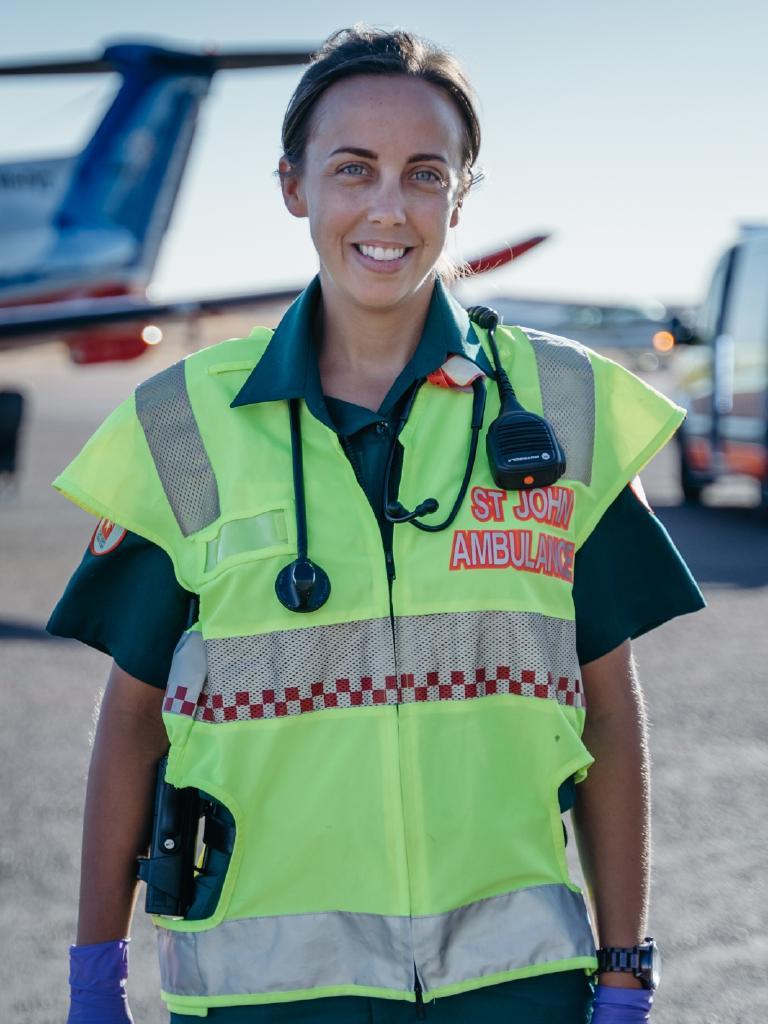 Paramedic Caitlin Little