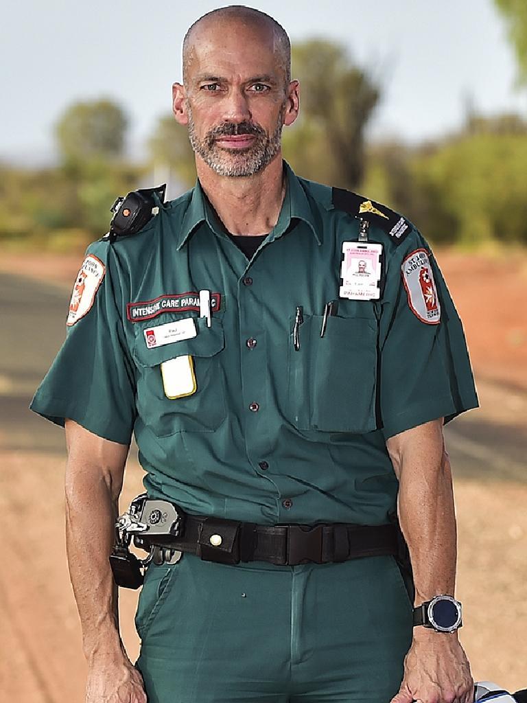 Paramedic Paul Reeves