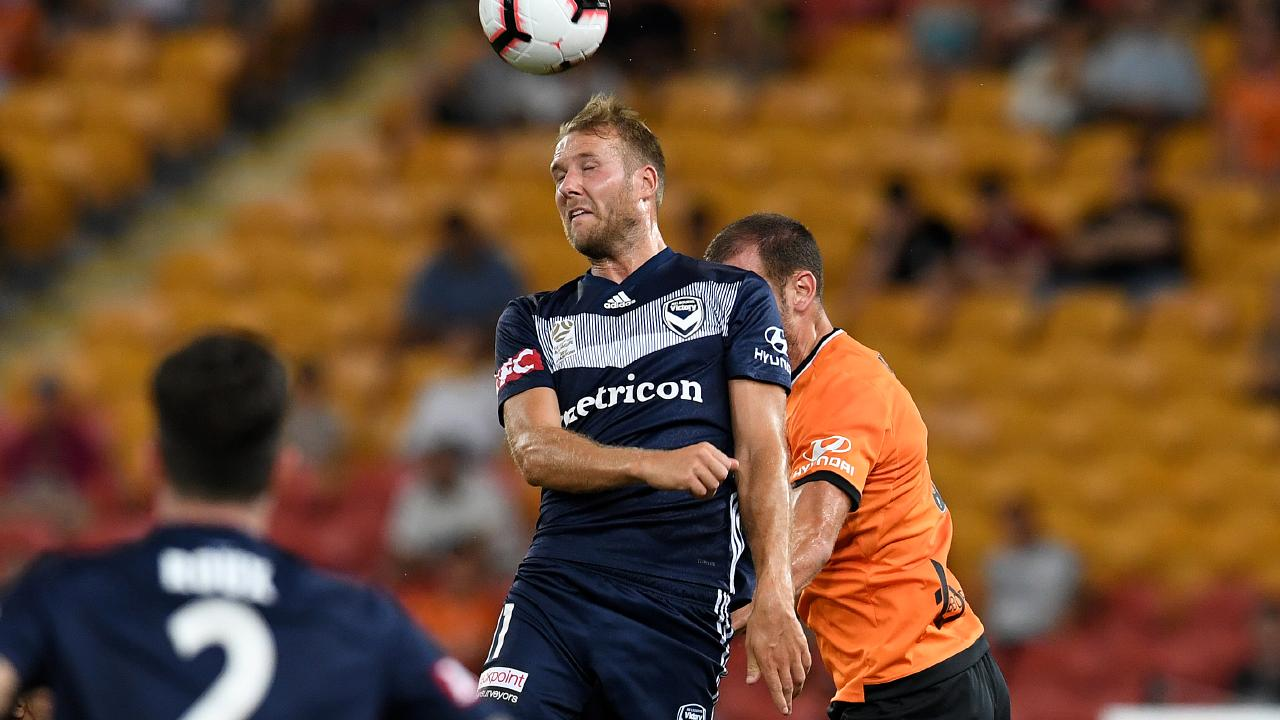 Ola Toivonen was absent from Victory's early season loss to Perth. Picture: AAP