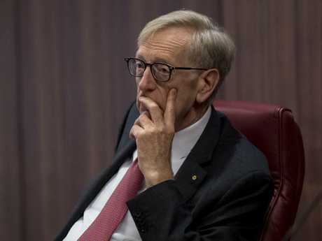 Commissioner Kenneth Hayne at the royal commission. Picture: Eddie Jim