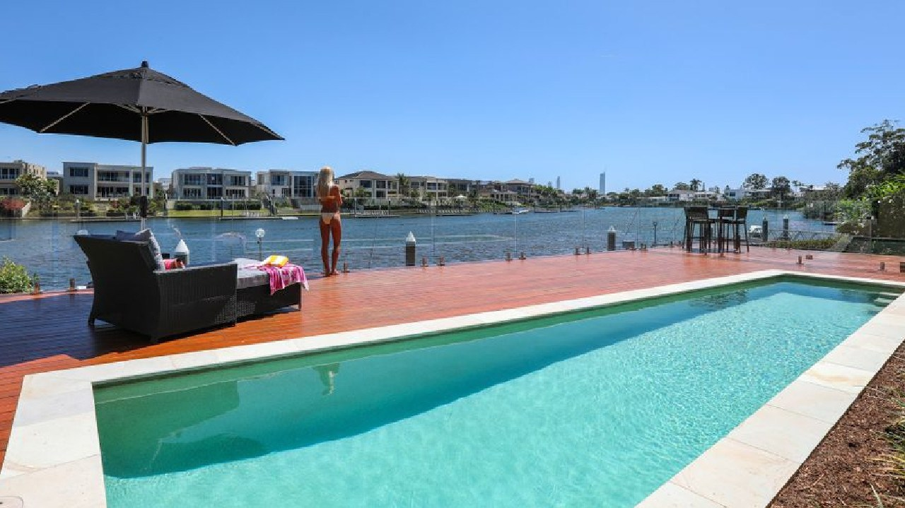 Listing shots from Amy Shark's new $2.25m home on the Gold Coast. Picture: Realestate.com.au