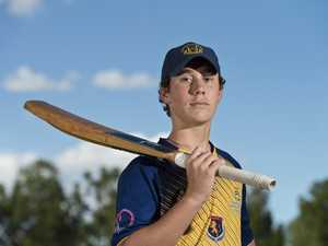 Junior cricketer hits big score