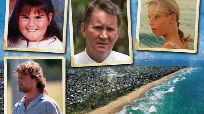 INNOCENT: Schoolgirls Patricia Leedie and Leanne Oliver were killed at Warana by Paul Osborne.