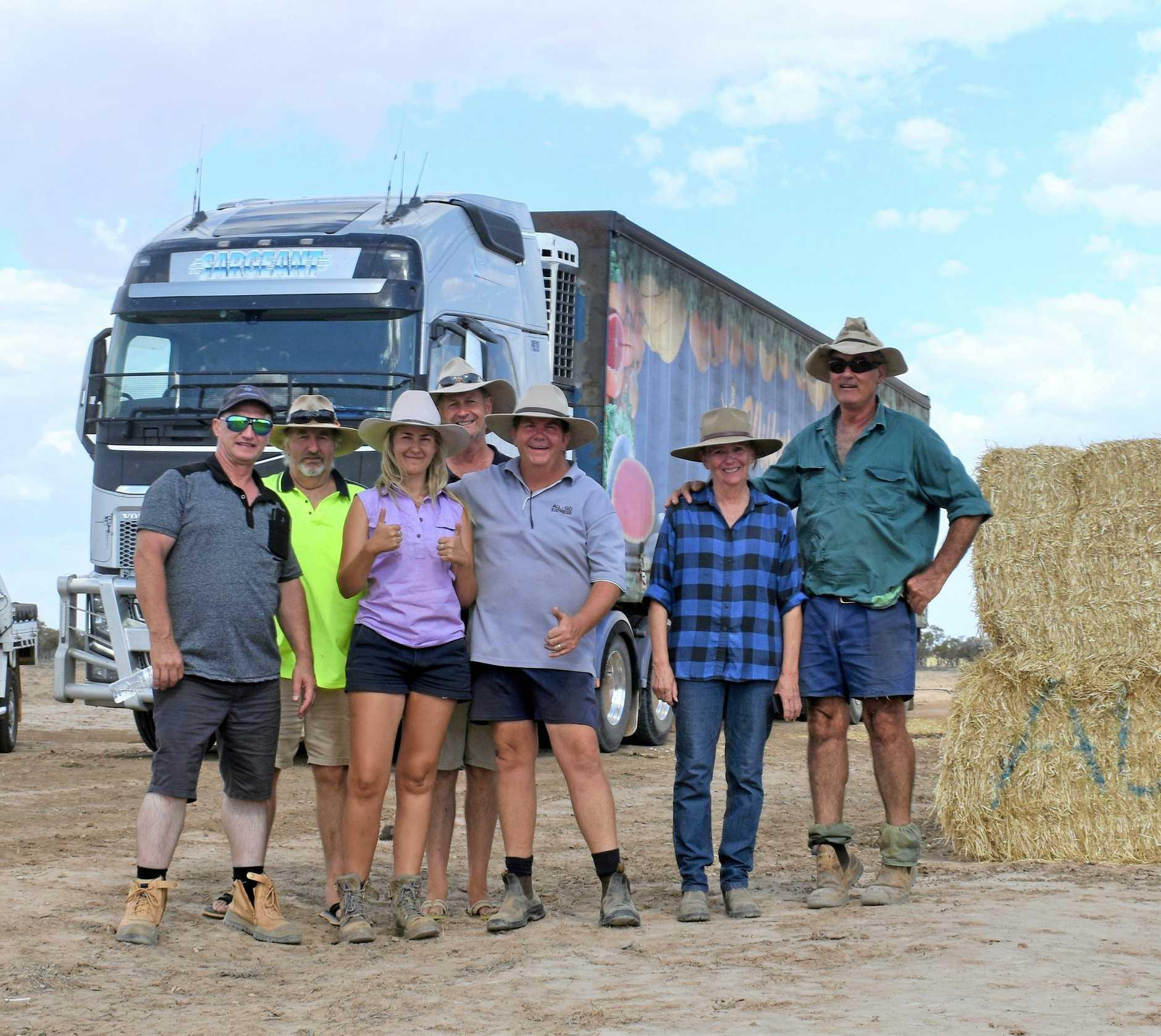 Lifelong bonds were formed on the hay run.