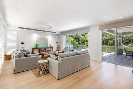 45 Witta Cirle, Noosa Heads has recently been sold for $8 million to Europeans to use as a holiday home.