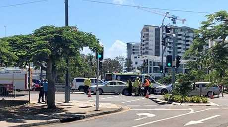 A man pleaded guilty to driving without due care and attention after a woman he hit on Maroochydore pedestrian crossing on January 11 suffered serious injuries.