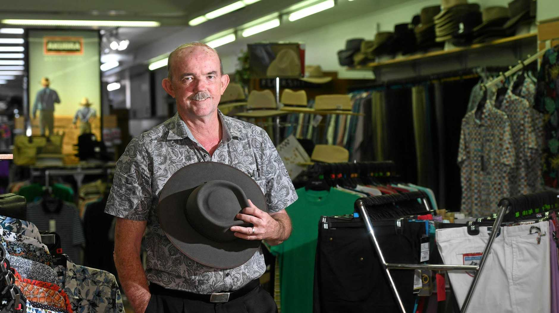 AFTER 43 years of helping men to keep on-trend in Lismore, Gary Smith has hung up his measuring tape for good.