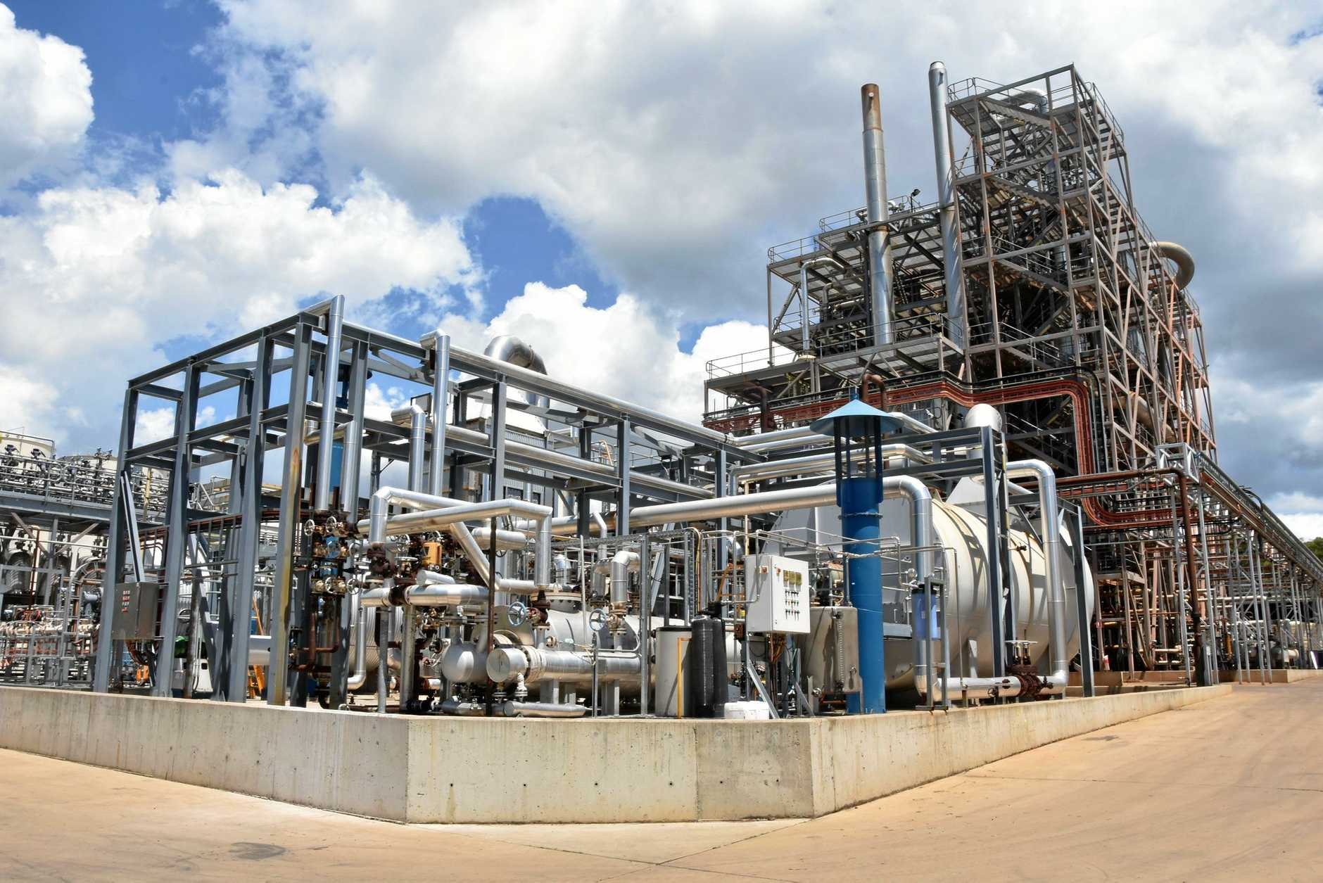 INNOVATE: The Northern Oil Refinery at Yarwun is currently experimenting with hydrogen technology.