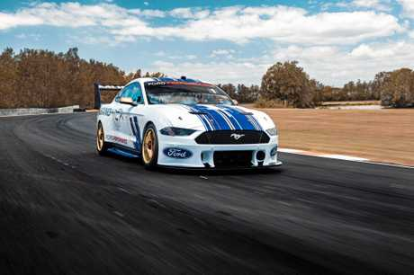 The new Ford Mustang will make its Supercars debut on February 14.