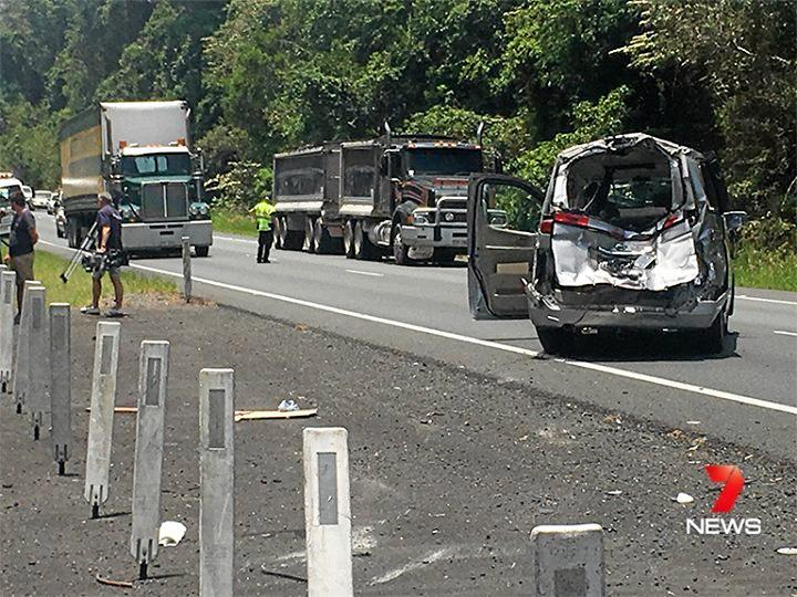 Ronald John Goodwin, 80, was charged with dangerous operation causing grievous bodily harm after his wife died days after a 2016 crash when the van he was driving merged in front of a fully-loaded truck.