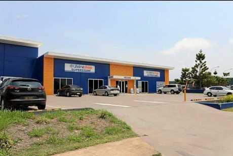 The near-new warehouse complex in Johanna Boulevard.