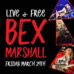 Award winning Bex Marshall is bringing her unique guitar playing style, and powerful voice to City Golf Club!