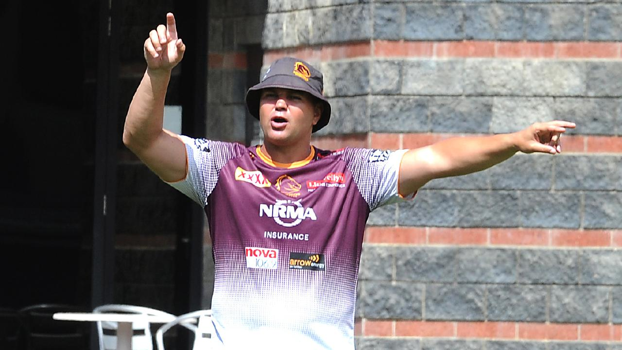 Did Anthony Seibold have a slogan too? (AAP image/John Gass)