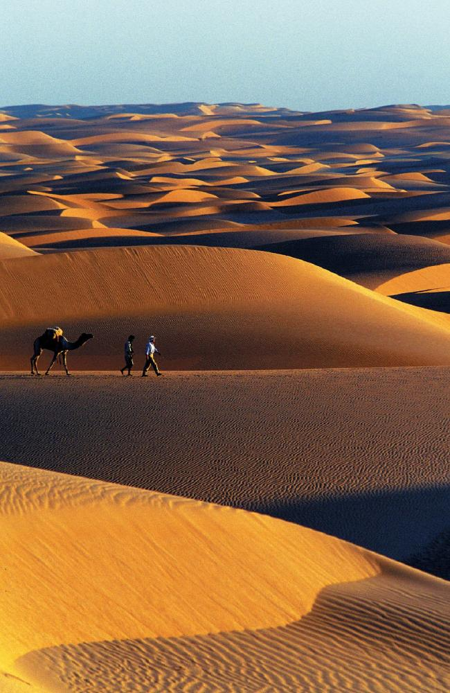 It wasn't always this way. It won't alway be this way. The Sahara undergoes a regular 20,000 year shift from desert to savanna. Picture: