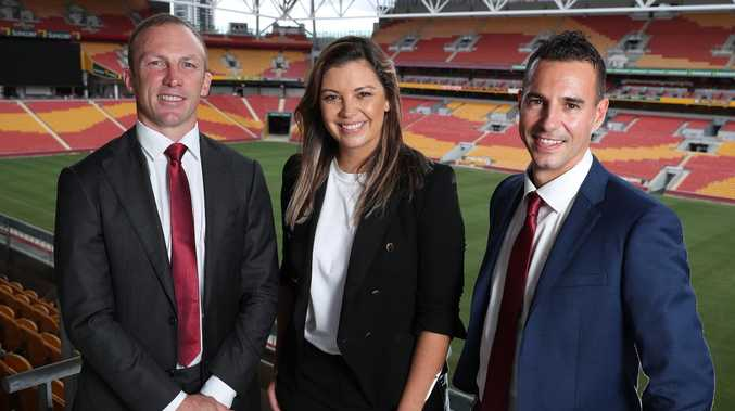 Darren Lockyer, Yvonne Sampson and Peter Badel will all be at the season launch. Picture: Liam Kidston