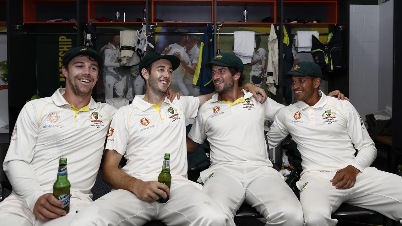 Travis Head, Kurtis Patterson, Joe Burns and Usman Khawaja all scored centuries against Sri Lanka. Have they done enough to earn Ashes spots? Picture: Getty