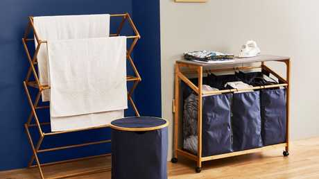 Big W's new $99 laundry trolley has excited fans thanks to its Marie Kondo inspired design.
