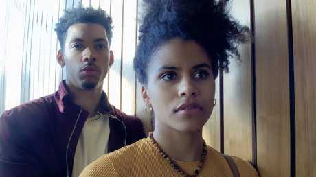 Melvin Gregg and Zazie Beetz star in Steven Soderbergh's first Netflix movie