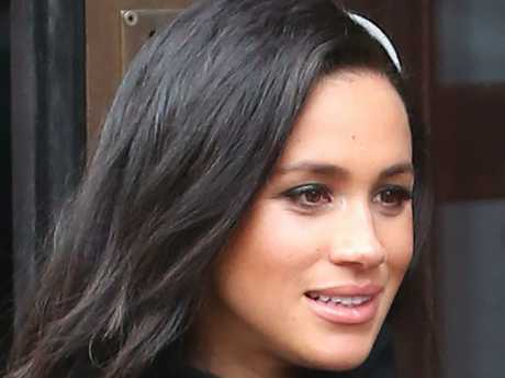 Meghan Markle has been mocked on British breakfast television.