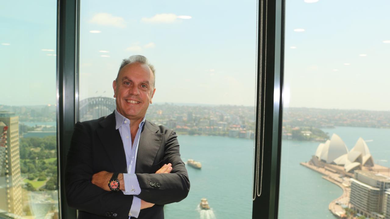 Elliott Green Power chief executive Umberto Tamburrino.