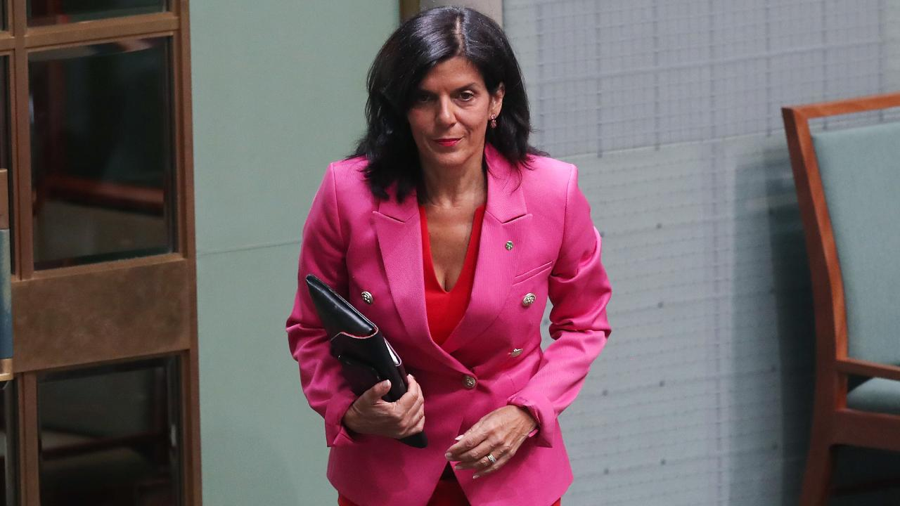 Julia Banks will run against former Liberal colleague Greg Hunt. Picture: Kym Smith