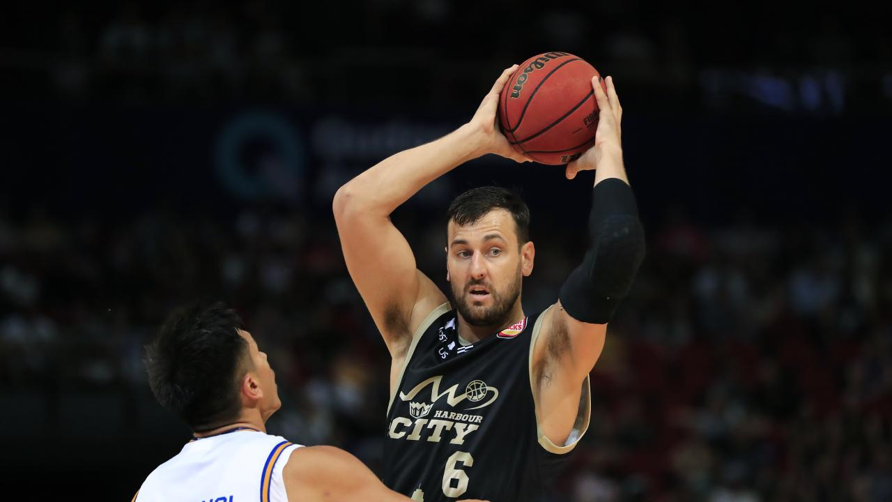 Andrew Bogut has been short-listed for the NBL MVP award. (Photo by Mark Evans/Getty Images)