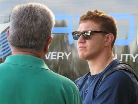 Dylan Napa could be watching on from the sidelines to start the season.