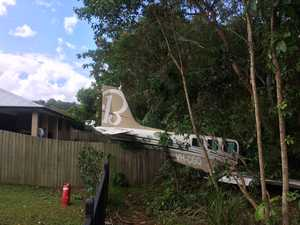 Plane crashes on Sunshine Coast
