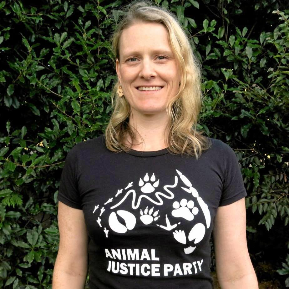 Alison Waters is the Animal Justice Party (AJP) candidate for the seat of Lismore.