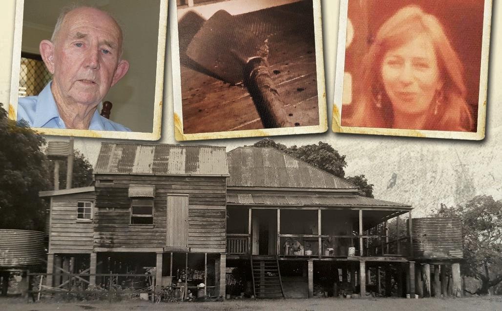 HORROR SCENE: A family was slaughtered at this rundown Wolvi farmhouse.