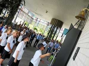 Year 7 students ring in start of secondary school journey