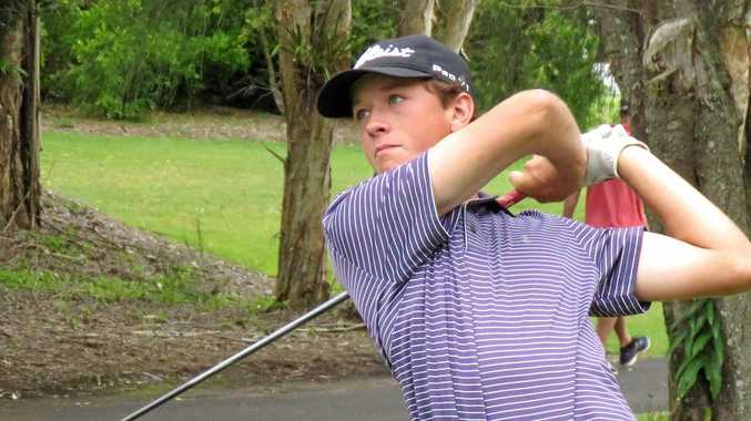 PROMISING: Pelican Waters golfer Will Martell has been selected in the Golf Queensland's Stars of the Future program.
