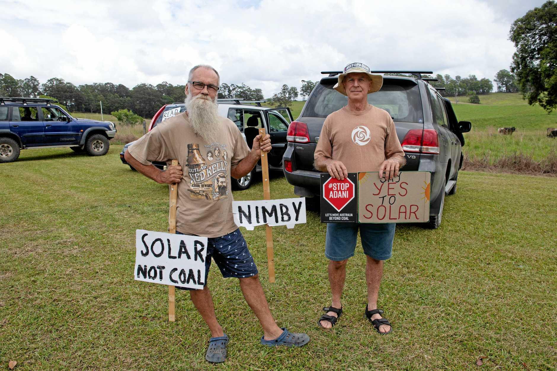 Solar Farm protest nana glenn.07 JAN 2019